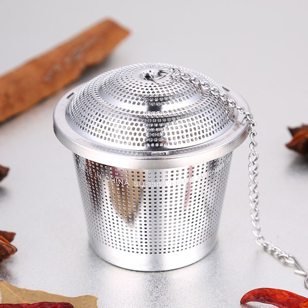 304 Stainless Steel Tea Filter Infuser Durable 3 Sizes Stew Soup Mesh Spice Ball High Quality 18 9ss3 Ww
