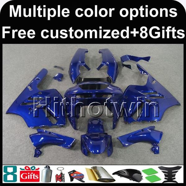 23colors+8Gifts blue bodywork motorcycle Fairing For Kawasaki Ninja 94-97 ZX 9R zx9r 1994 1995 1996 1997