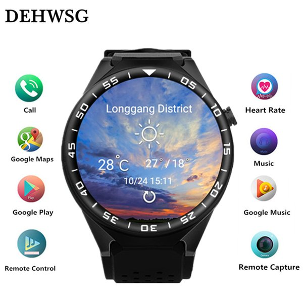 """2018 Smart watch S99C 1.3"""" AMOLED Touch screen smartwatch Heart Rate 5.0 MP Camera support 3G WIFI GPS SIM WCDMA For IOS Android"""
