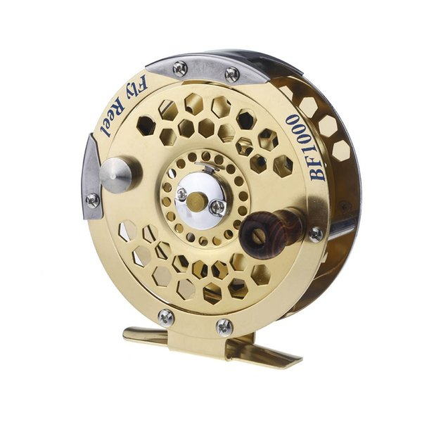 H12427 Full Metal Fly Fish Reel Ex Ice Fishing Vessel Wheel BF1000A 0.5mm / 500 m 1: 1