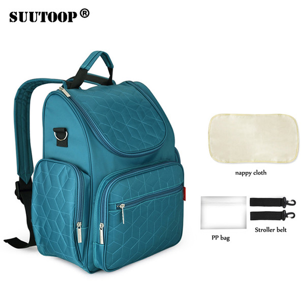 Fashion Waterproof Mummy Maternity Nappy Bag Brand Large Capacity Baby Bag Travel Backpack Designer Nursing Bag for Kids Care