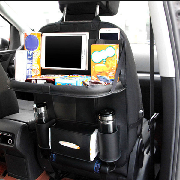 Car Seat Travel Bag  Storage Bag Multifunctional Car Back Seat Organizer Hanging Pouch Cup Holder Multi-Pocket Storage