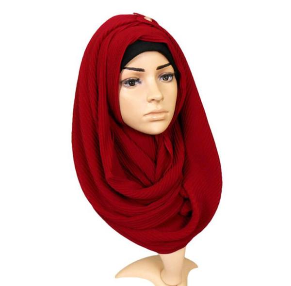 Foulard en mousseline de soie couleur unie foulard monochrome féminin de couleur unie robes ethniques foulards froissés