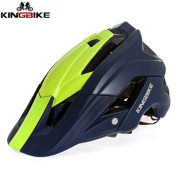 KINGBIKE Adult MTB Helmet 2018 Integrally-molded Bike Helmet Women Mountain Road Bicycle Helmets Outdoor Sports Bicicleta