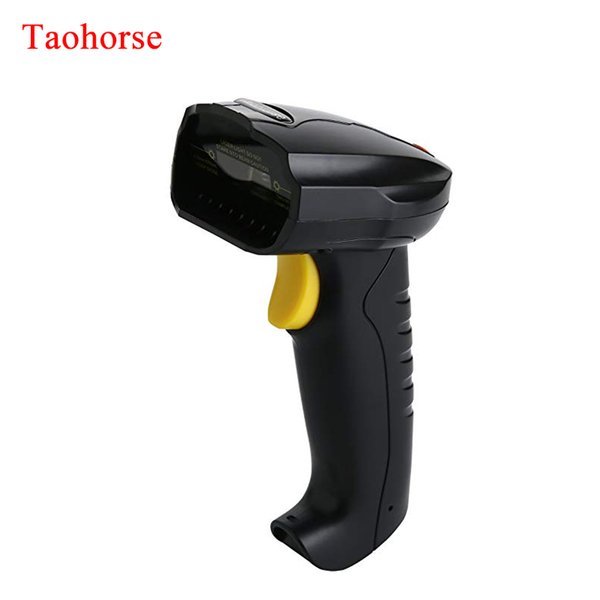 Handheld USB Barcode Scanner Wired Laser 1D Bar Code Reader with Automatic Continuous Scanning for PC Laptop Plug and Play