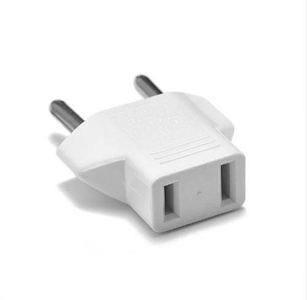 2pcs American US CN JP To EU European German Plug Adapter EU Euro Germany Power Electric Travel Plug Power Adapter Outlet Socket