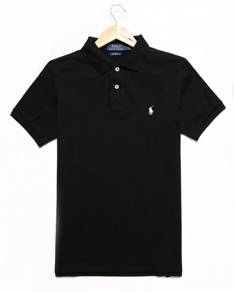 Brand Designer Polo Men Women Short Sleeve Shirts London New York Chicago Polo Shirt Mens Polo Shirt High Quality Solid Color