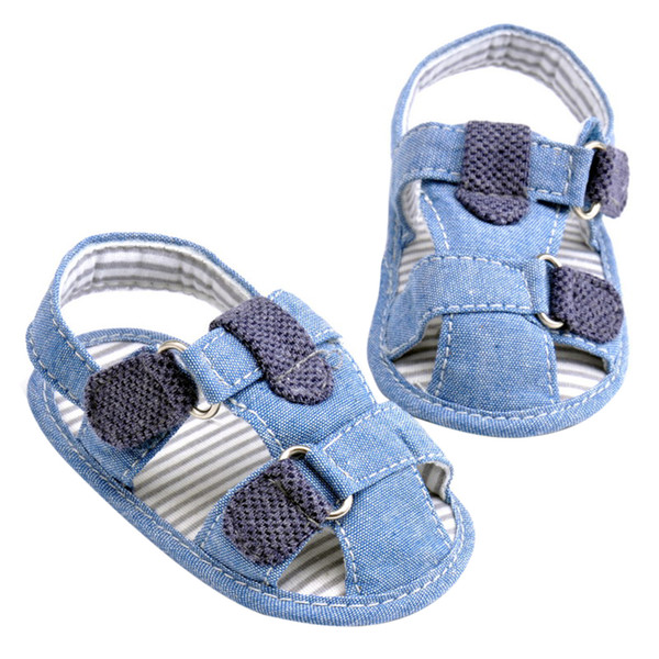Baby Boys Kids Shoes Newborn Infant Very Handsome Soft Soled Beach Crib Baby Comfortable Breathable Sandals Pre walker