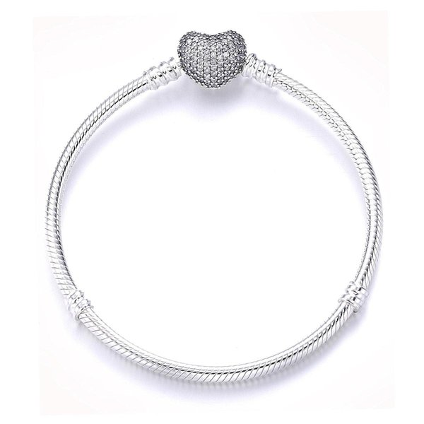 PDB5 ZTUNG 925 Sterling Silver Anklets Amour Coeur Fermoir Serpent Chaîne Chaînes Anklets Bracelet Pour Femmes De Noce Cadeau Fine Bijoux S18101507