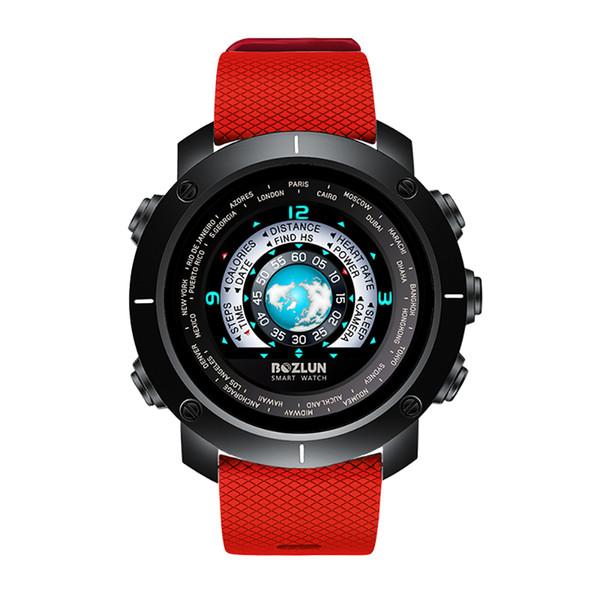 BOZLUN W30 3D UI Dijital Akıllı İzle Erkekler Kadınlar Spor Smartwatch Nabız Kalori Uzaktan El saatler Erkek Relogio Masculino
