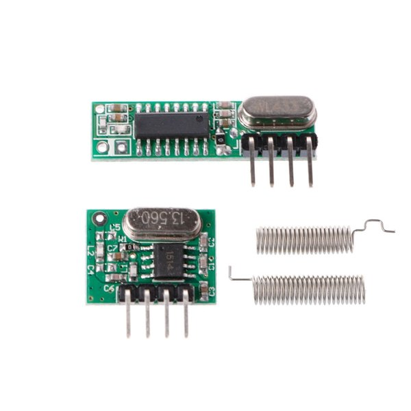 1 Set 433Mhz RF Superheterodyne Receiver Transmitter Module Kit With Antenna For Arduino/ARM/MCU