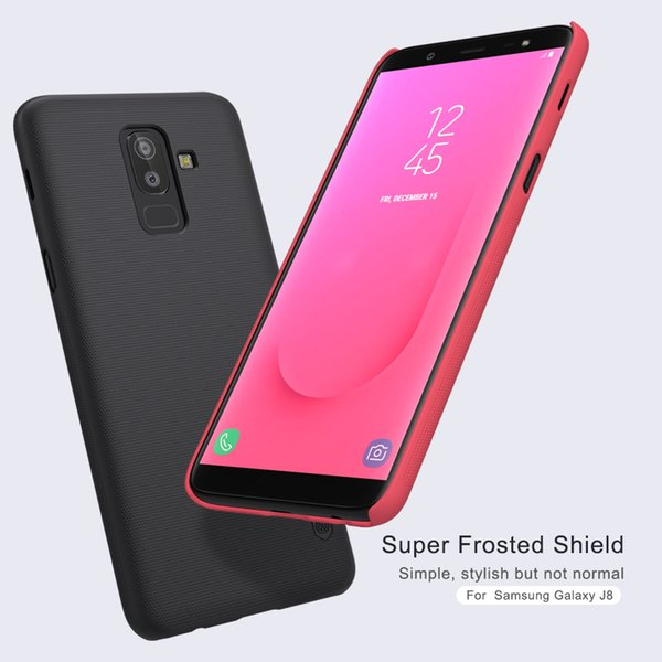 uk availability 1a513 ab66b Wholesale For Samsung Galaxy J8 Case Cover Nillkin Frosted Shield Hard  Cover SFor Samsung J8 Case Gift Screen Protector Personalized Cell Phone  Cases ...