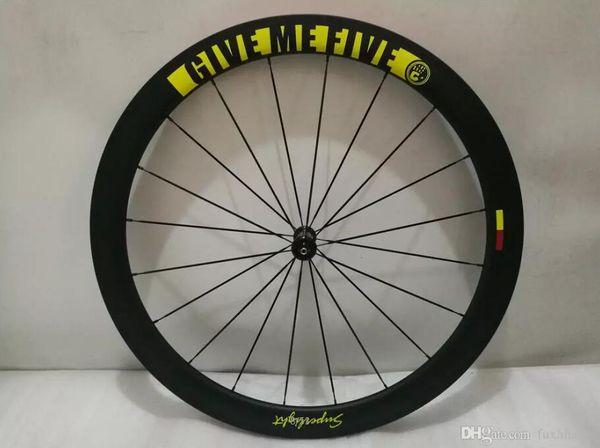 Rims For Cheap >> Super Light Road Wheels 700c Road Wheelset 50mm Carbon Fiber Clincher Wheelset 700c Carbon Wheels Bicycle Wheels Carbon Rims Cheap Bike Wheels 26
