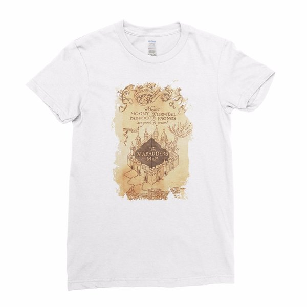 Poufsouffle équipe Harry Potter Gardien de la maison Quidditch Hommes T-shirt Haut TeeHarry Potter Marauders Carte Poudlard Moony Femmes Filles T-shirt