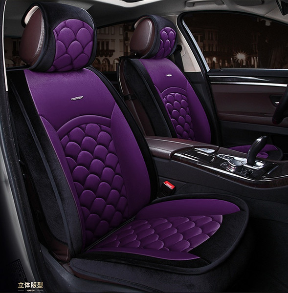 Strange Universal Fit Car Interior Accessory Seat Covers For Five Seat Sedan Warm Leather Full Set Seat Covers For Suv Automotive Vehicle Auto Seat Covers Andrewgaddart Wooden Chair Designs For Living Room Andrewgaddartcom