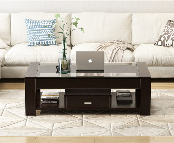 2019 Coffee Table Concise Modern Tempered Glass Tea Table, Living Room  Simple Small Apartment Creative Tea Table From Yzt110, $322.62   DHgate.Com