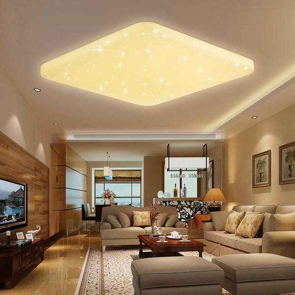 Acheter Plafonnier Led Star Home Moderne Telecommande Intelligente Gradation Eclairage Interieur Salon Chambre Cuisine De 73 59 Du Fried Dhgate Com