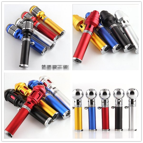 sneak a vape click n vape Mini Herbal Vaporizer smoking pipe aromatherapy Jet Butane Cigarette Flame incense lighter 4 Styles Multiple Color