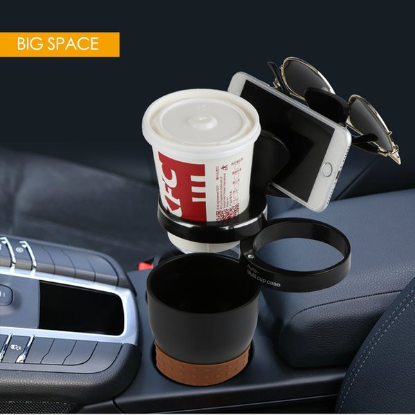 Multi Function Car Drink Cup Holder Storage Box Auto Sunglasses Holder Car Organizer for Coins Keys Cellphone Stand Support Base