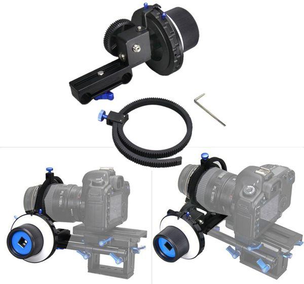 Berufsfolgenfokus Mini fotografischer Fokus Manueller Kamerastabilisator und Fokusgerät für Canon 5D2 Nikon D600 Verschiffen durch DHL
