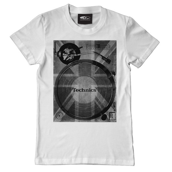 Technics / DMC T-Shirt - 1200 Union Short Sleeve Hip Hop Tee T Shirt top tee Brand Clothes Summer 2018 Basic Models