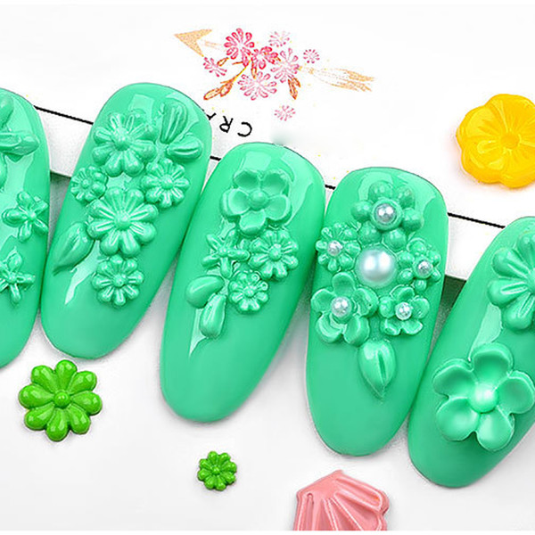 1PC New 3D Silicone Mold Flowers Resin Mold for DIY Making Jewelry Nail Art Template Tools