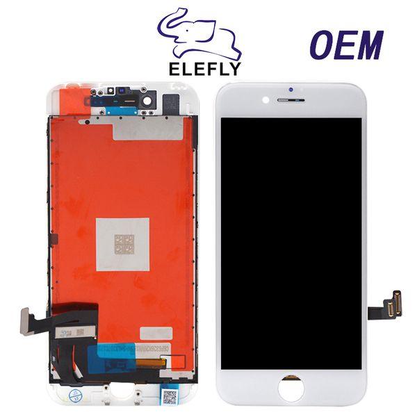 Calidad original para iPhone 7 7G 7P más Reemplazo de pantalla LCD con ensamblaje completo y marco aprobado mediante pruebas con envío gratis