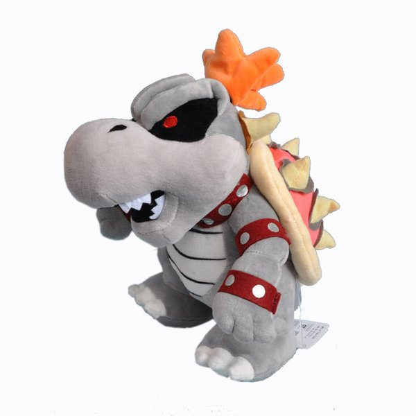 EMS Super Mario Bros Dry Bowser 25CM Plush Doll Stuffed Best Gift Soft Toy