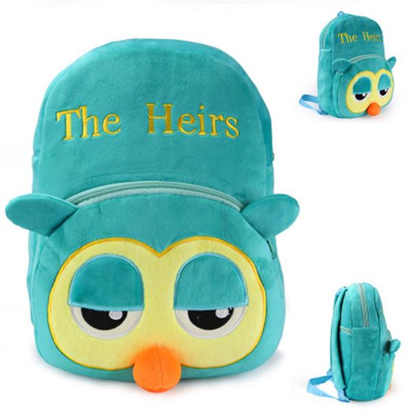 Çocuklar peluş sırt çantaları kore Drama mirasçı Mirasçılar için komik baykuş peluş oyuncaklar çocuk sevimli hayvan Anaokulu okul çantası