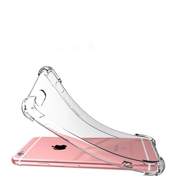 Temizle Cep Telefonu Kılıfları Shell Cep Telefonu Kılıfları Iphone X 6 7 8 Artı XS XR MaxMobile Telefon Koruyucuları Koruyucu Kılıf MPS8