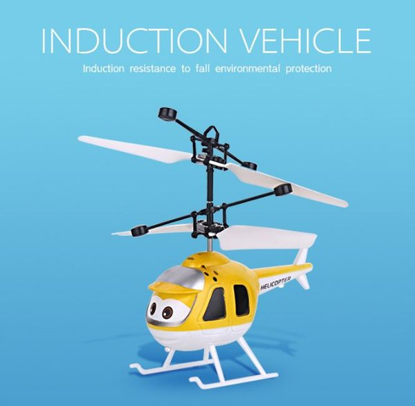 Flying Ball Helicopter RC Flying Ball Drone Helicopter Ball Built-in Shinning LED Lighting Flying Toys Good Gifts for Kids (Helicopter)