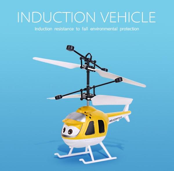 Flying Ball Hubschrauber RC Flying Ball Drone Hubschrauber Ball Eingebaute Shinning LED Beleuchtung Fliegende Spielzeug Gute Geschenke für Kinder (Hubschrauber)