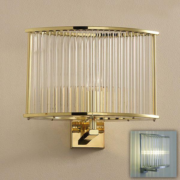 Lampada da parete in cristallo di lusso lampada da parete applique LED fantasma foyer hotel camera da letto argento dorato LED lampada da parete lampada