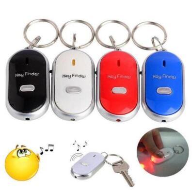 Anti-verlorene Schlüsselsucher-Schlüssel-Verzeichnis-Keychain Whistle-Ton-Steuerschlüsselring draußen Schlüsselsucher-Anti verlorenes Keychain Neuheit-Einzelteile CCA10159 360pcs