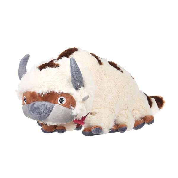 2018 42cm The Last Airbender Resource Appa Avatar Stuffed Animals Plush  Doll Cow Ox Toy Gift Vintage Fill Material From Marginofvisitors, $9 05 |