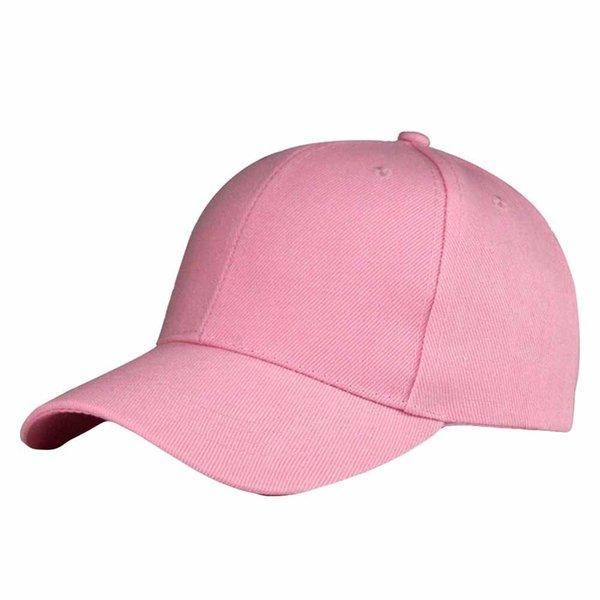Fashion Unisex Solid Color Baseball Cap Snapback Hat Hip-Hop Adjustable Women Men Caps