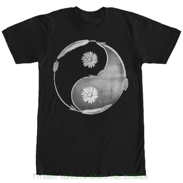 Tees Men's Clothing Big Size:s xxl Lost Gods Daisy Arrow Yin Yang Mens Graphic T Shirt