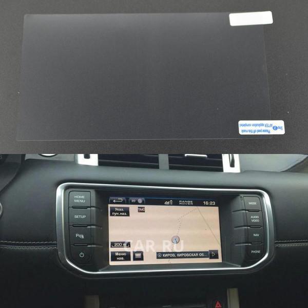 Filme protetor de vidro temperado da tela da navegação de GPS para Toyota COROLLA Camry REZI RAV