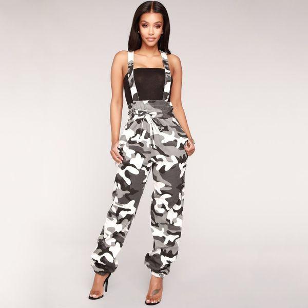 Acquista Tuta Almagores Tuta Mimetica Donna Autunno Nero Rosa Lungo Jeans Denim Strap Tuta Pagliaccetti Pantaloni Pantaloni A $33.95 Dal Qingchung |