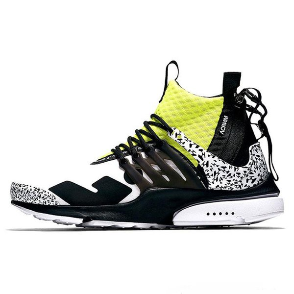 X Lab Air Presto Mid Running Shoes For
