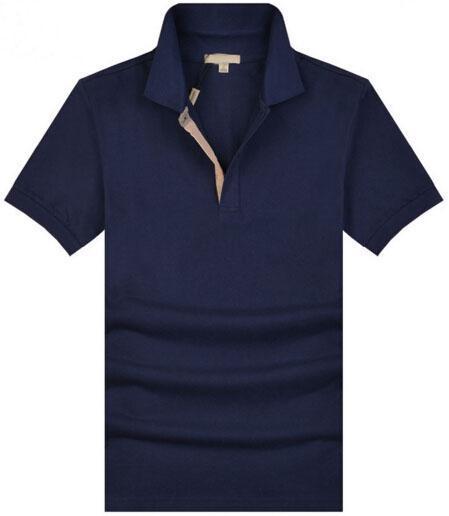 Élégant Londres Hommes Brit Polo Shirt À Manches Courtes Polos Slim Fit UK Homme Chemises De Sport Camisas Coton Tees
