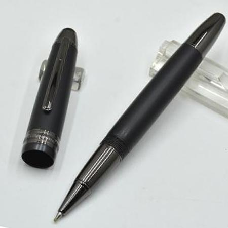mount roller ball pen matte black , Luxury Pen White Classique office writing pens with series number