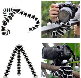 2018 nouveau support de trépied flexible grand pieuvre Gorillapod pour téléphone portable téléphone intelligent téléphone SLR appareil photo de bureau bureau mini trépied