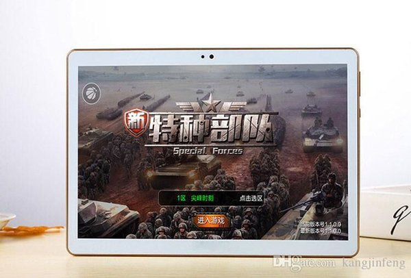 2018 NEW 10 polegada tablet pc Octa núcleo 4 GB RAM 32 GB ROM 1280*800 IPS 5.0MP dual sim Android 5.1 Bluetooth GPS tablets