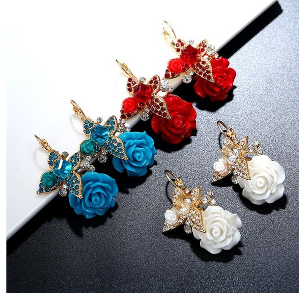 Earring,Mixed color
