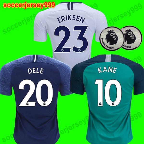 Top thailand KANE Soccer Jersey 2018 2019 LAMELA ERIKSEN DELE SON spurs  jerseys 18 19 Football shirt uniforms CAMISETAS DE FUTBOL away third 4c90aef88