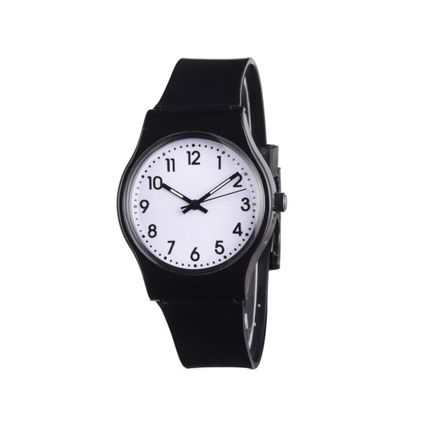 Fashion Simple Dress Watches For Women Girls Fresh Silicone Band Quartz Wrist Watches Clock Hour 2018 New #PYEW
