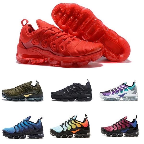low priced 06f7b bdc0f ... get 2018 venta caliente nueva nike air vapormax tn plus zapatos para  hombres mujeres triple s ...