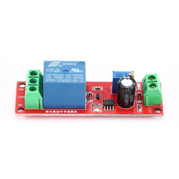 12V, interruptor de Adusjustable, módulo de relé do atraso de tempo, interruptor de atraso Monostable, para o carro, para o equipamento eletrônico