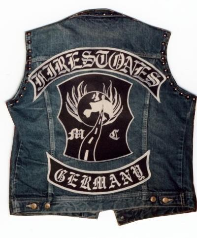 GERMANY Patch Motorcycle club Patch MC Embroidered Full Back Large Applique For Rocker Biker Vest Patches for clothing Free Shipping